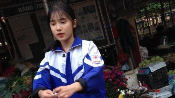 Nữ sinh Lào Cai bị chụp lén: Đẹp xuất sắc, thần thái hơn cả ảnh selfie