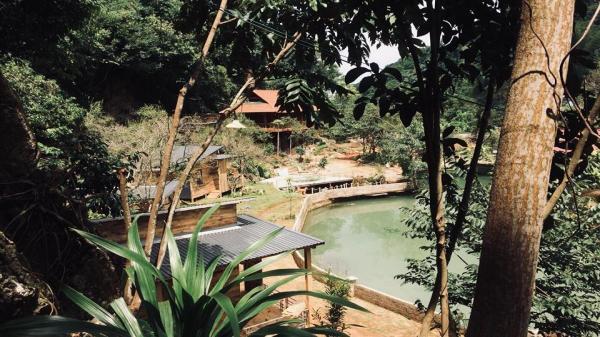 Độc đáo homestay Nhà bên suối ở khu du lịch quốc gia Mộc Châu, Sơn La