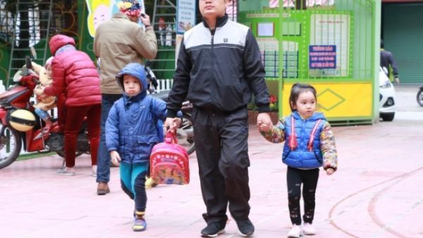 Sau Tết Dương lịch, học sinh Lào Cai tiếp tục nghỉ học do rét đậm