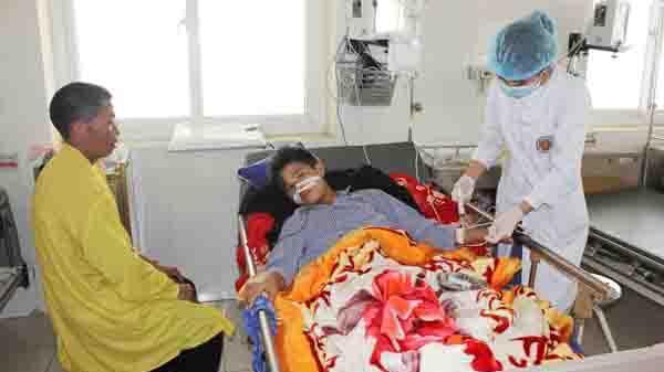 Bệnh viện Sa Pa: P.hẫu t.huật thành công bệnh nhân bị chạm t.hương bụng kín