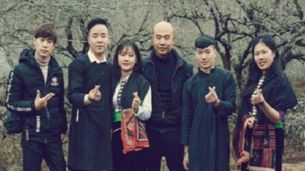 """Video clip """"lạ"""" Piến Chàư (Thay lòng) của nhạc sĩ, ca sĩ Phong Hạo ở Mộc Châu, Sơn La"""