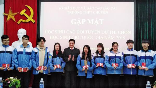 Lào Cai: 44 học sinh đoạt giải trong kỳ thi học sinh giỏi quốc gia THPT