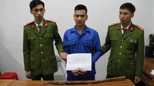 Trưởng CA xã Lào Cai giải quyết đ ánh nhau bị c hém: May né kịp