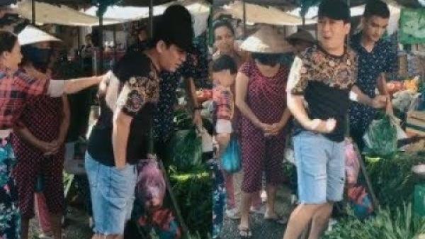 BẤT NGỜ gặp Trường Giang đi chợ Bến Tre và thái độ của danh hài khi bị người dân kéo tay xin chụp ảnh