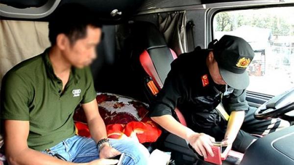 Lào Cai phát hiện, xử lý 10 trường hợp lái xe cơ giới dương tính với m.a t.úy