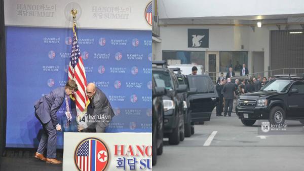 Không đạt được thỏa thuận với Triều Tiên, Tổng thống Trump tiến hành họp báo sớm, chuẩn bị về nước ngay trong chiều 28/2