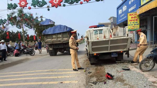 Hà Tĩnh: Xe bán tải t.ông xe máy, một phụ nữ t.ử v.ong tại chỗ