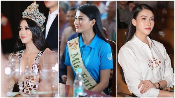 Hoa hậu Trái đất Phương Khánh - người đẹp Bến Tre bị nghi phẫu thuật thẩm mỹ vì phần mũi 'như kèn saxophone'