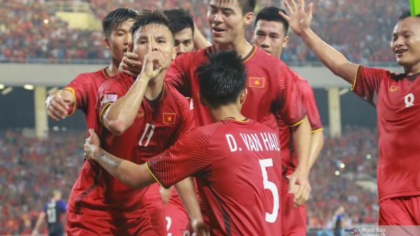 ĐT Việt Nam thăng tiến trên BXH FIFA tháng 3/2019, đứng số 1 Đông Nam Á