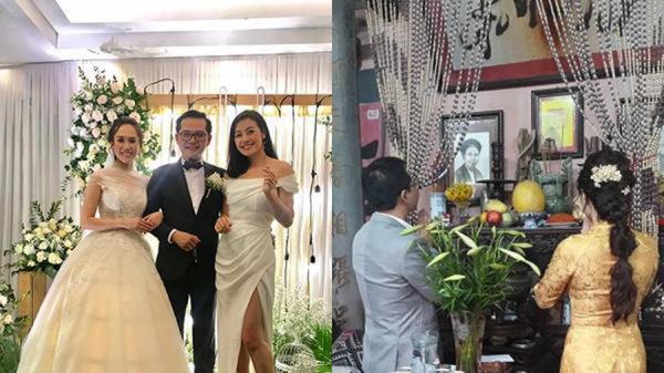 """NSND Trung Hiếu tiếp tục tổ chức đám cưới lần 2 với """"hotgirl bản"""" kém 19 tuổi"""