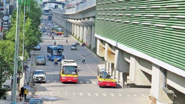 Đường sắt Đô thị Cát Linh - Hà Đông có 65 điểm dừng xe buýt