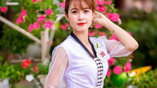 Chân dung thiếu nữ dân tộc Thái đăng quang cuộc thi Người đẹp Hoa Ban 2019