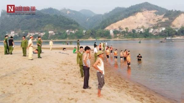 Hình ảnh ta.ng thương tại hiện trường vụ 8 học sinh ch.ết đ.uối trên sông Đà
