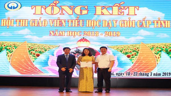 Đoàn thành phố Lào Cai đạt giải Nhất Hội thi Giáo viên tiểu học dạy giỏi cấp tỉnh