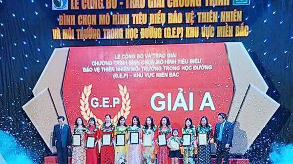 Trường Mầm non Hoa Mai (thành phố Lào Cai) đoạt giải A