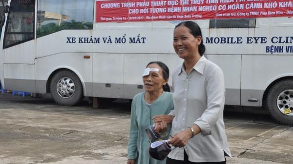 'Bệnh viện' lưu động sẽ đến Lào Cai m.ổ mắt miễn phí trong năm nay