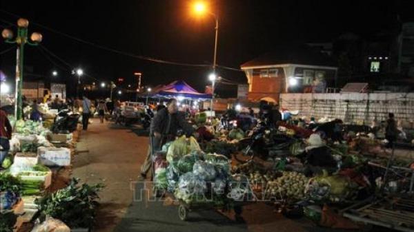 Lào Cai xây dựng hệ thống chợ văn minh thương mại