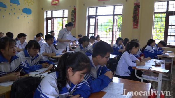 Tỉnh Lào Cai có 18 điểm thi THPT quốc gia năm 2019