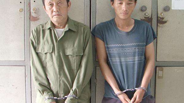 Công an huyện Bắc Hà: Bắt 3 đối tượng, thu giữ 4 bánh heroin