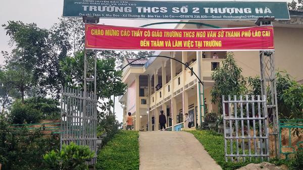 Tạm đình chỉ công tác thầy giáo bị tố làm học sinh lớp 8 mang thai ở Thượng Hà (Bảo Yên - Lào Cai)