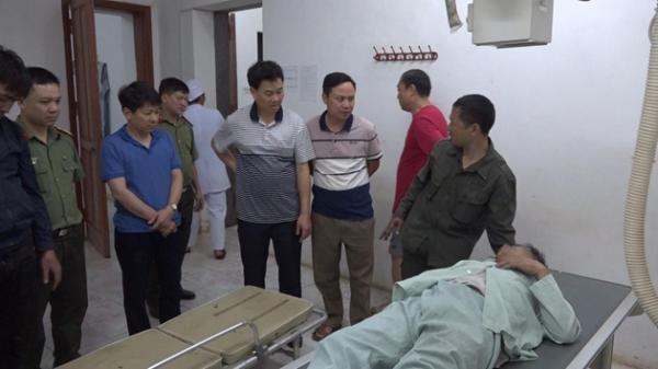 Lào Cai: Nghẹt thở cứu 2 cán bộ Công an bị rơi xuống núi khi chữa cháy rừng