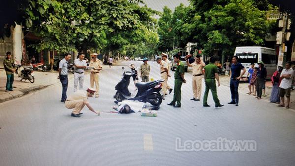 Đối tượng gây ta.i nạ.n giao thông trên đường Hoàng Quốc Việt (Lào Cai) đã ra đầu thú