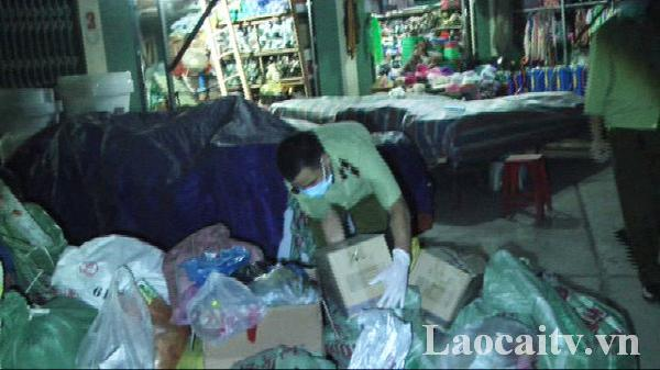 Lào Cai: Thu giữ gần 1 tấn thuốc bảo vệ thực vật và tân dược không rõ nguồn gốc