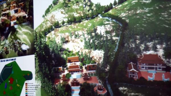 Trên 270 tỷ đồng xây chùa núi Ba mẹ con ở Lào Cai