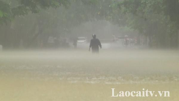 Chiều và đêm 20/5, Lào Cai có mưa dông trên diện rộng