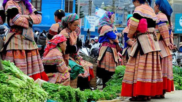 Độc đáo chợ phiên Bắc Hà - Nét nguyên sơ mang đậm bản sắc dân tộc của chợ lớn nhất Tây Bắc