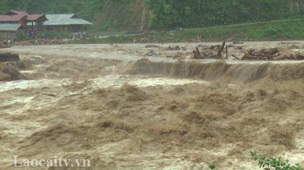 Lào Cai đón đợt mưa lớn diện rộng, nguy cơ lũ quét, sạ.t lở đất đá