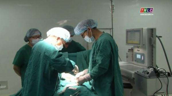 Bệnh viện Sản – Nhi Lào Cai phẫu thuật thành công ca thoát vị cơ hoành bẩm sinh cho trẻ 2 tuần tuổi
