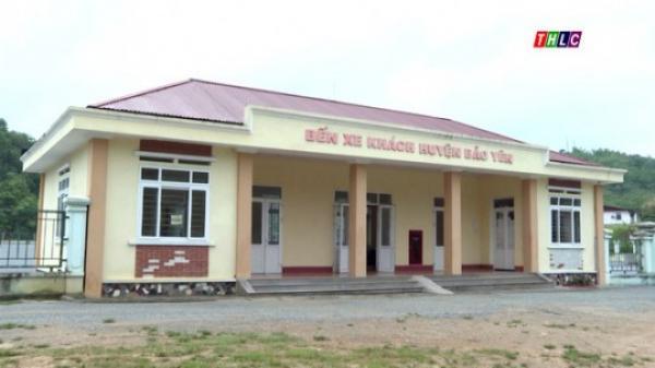 Nhiều bất cập trong khai thác, sử dụng bến xe Bảo Yên (Lào Cai)