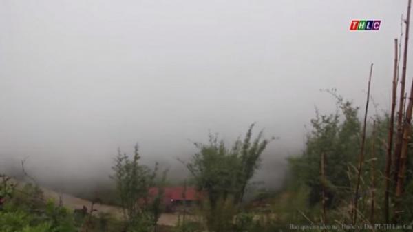 Mưa vừa, mưa to tiếp tục trút xuống Lào Cai