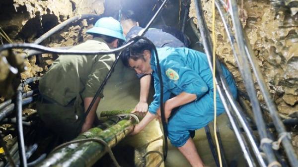 Hôm nay (7/6), dự kiến tiếp cận n.ạn nhân bị mắc kẹt trong hang sâu ở Lào Cai