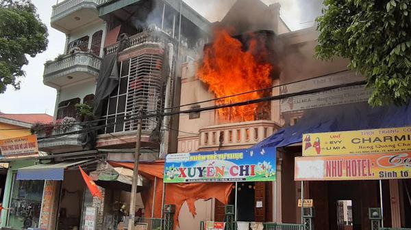 Chá.y dữ dội tại một cơ sở nhóm trẻ tư thục ở Bắc Hà (Lào Cai)