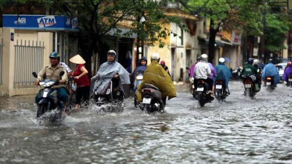 Đêm 14/6, mưa ở các địa phương Lào Cai gia tăng về lượng
