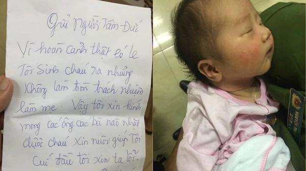Lào Cai: Mẹ bỏ con gái mới sinh gần 1 tuần trong thùng giấy kèm tờ giấy 'sinh con nhưng không làm tròn trách nhiệm, mong mọi người nuôi giúp'