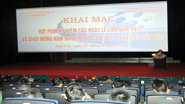 Khai mạc đợt chiếu phim kỷ niệm các ngày lễ lớn của đất nước và năm du lịch quốc gia 2017
