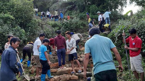 Y Tý (Lào Cai): Sửa chữa, phục hồi đường đá cổ phục vụ du lịch
