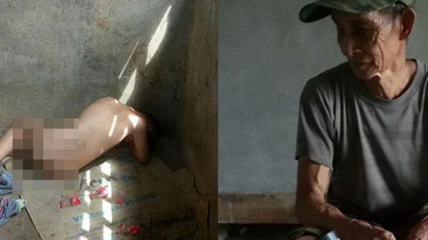 Đằng sau bức ảnh bé trai 13 tuổi ở Lào Cai trần truồn.g, bị ông nội cột dây, nhốt trong chuồng là một câu chuyện đầy thươn.g cảm