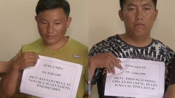 Công an Lào Cai bắt giữ 2 đối tượng vận chuyển 10 bánh h.eroin
