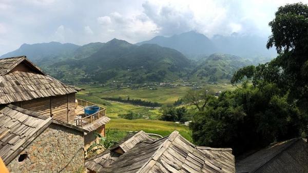 Mùa thu tuyệt đẹp trên từng bậc thang vàng Sa Pa (Lào Cai)