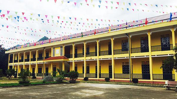 Mường Khương (Lào Cai) đưa vào sử dụng 50 phòng học kiên cố trước năm học mới