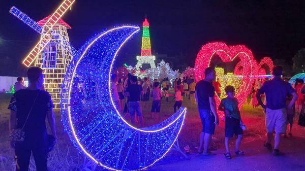Tưng bừng chờ đón lễ hội ánh sáng với hàng triệu bóng đèn LED lần đầu tiên tổ chức hoành tráng ở Lào Cai đúng dịp Trung thu