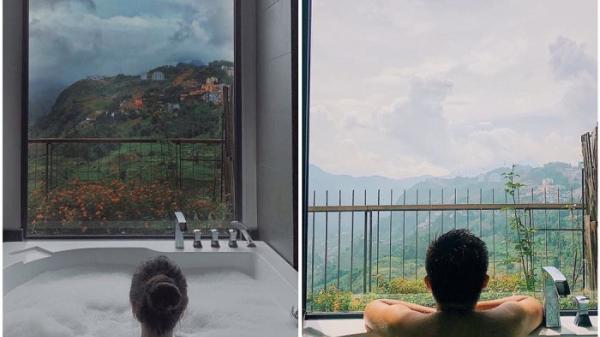 4 địa điểm có view bồn tắm ngắm trọn cảnh lúa chín ở Sa Pa (Lào Cai)