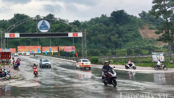 Đêm về sáng ngày 8/9, mưa dông diện rộng bao phủ Lào Cai