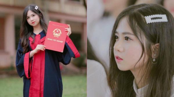 Dân mạng ngẩn ngơ vì nhan sắc ngây thơ của nữ sinh Lào Cai - Tân sinh viên ĐH Luật