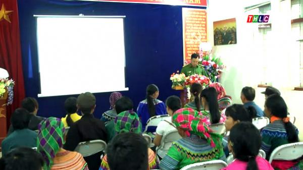 Công an huyện Bắc Hà (Lào Cai) cấp, đổi lại chứng minh thư cho nhân dân vùng cao