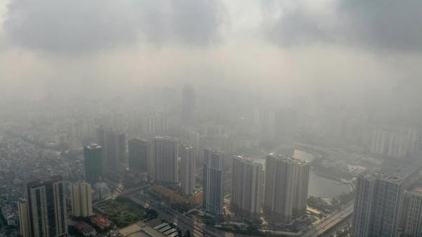 Ô nhiễm không khí nghiêm trọng ở Hà Nội và 1 số tỉnh miền Bắc